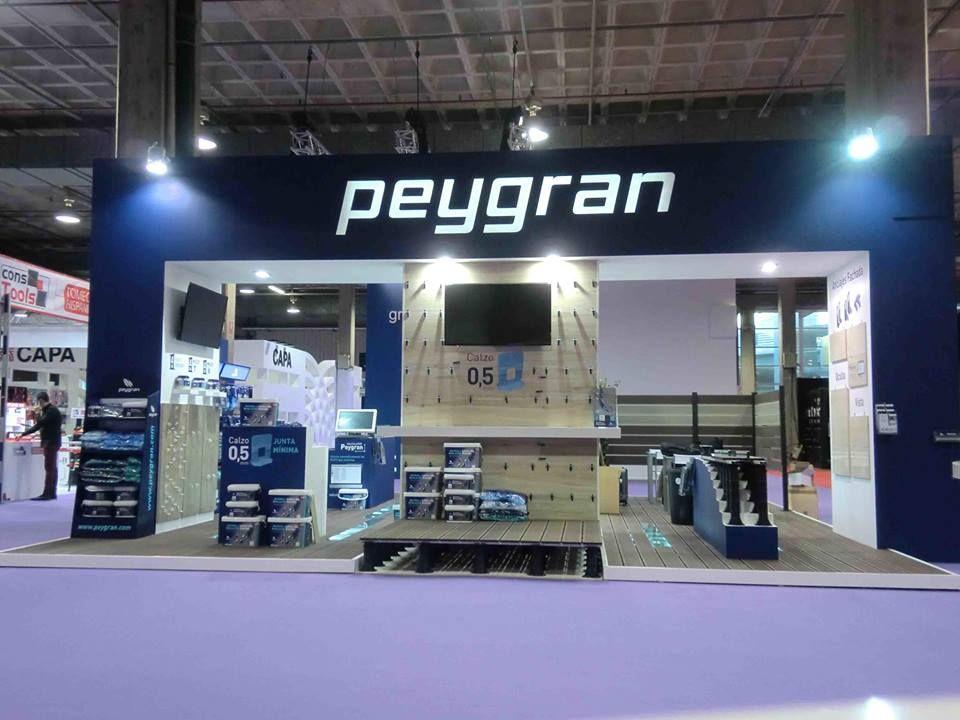 Peygran - Diseño de stand - bañuls - Carpinteria efimera