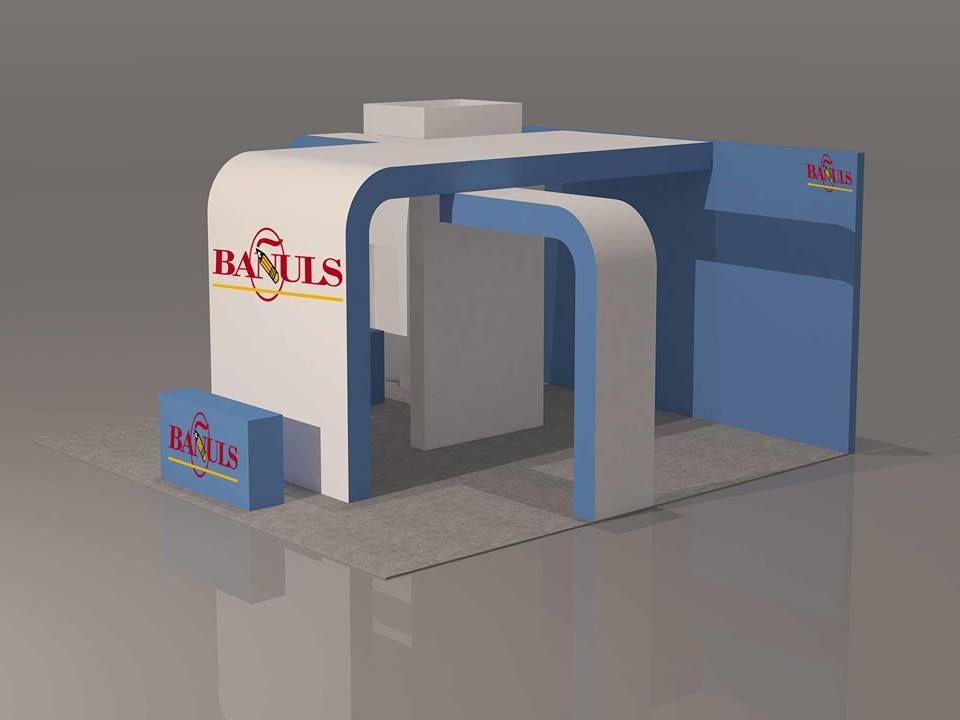 Stand modular bañuls - Carpinteria efimera